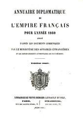 Annuaire diplomatique et consulaire de la République Française: pour l'année ...