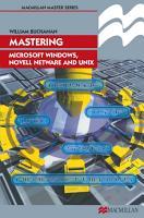 Mastering Microsoft Windows  Novell NetWare and UNIX PDF