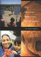 The Mexican American Experience PDF