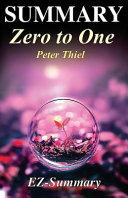 Summary   Zero to One PDF