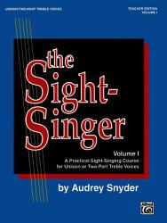 The Sight Singer A Practical Sight Singing Course For Unison Two Part Treble Voices Book PDF