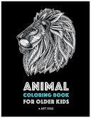 Animal Coloring Book for Older Kids