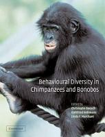 Behavioural Diversity in Chimpanzees and Bonobos PDF
