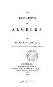 The elements of algebra
