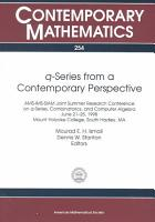 Q series from a Contemporary Perspective PDF