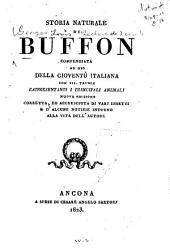 Storia naturale di Buffon: compendiata ad uso della gioventù italiana ...
