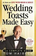 Wedding Toasts Made Easy PDF