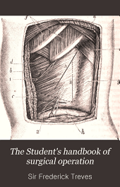 The Student's handbook of surgical operation