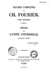 Oeuvres complètes de Charles Fourier
