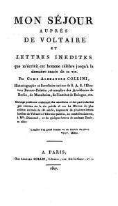 Mon Séjour aupres de Voltaire