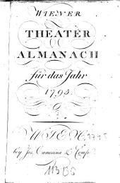 Wiener Theater-Almanach: für das Jahr .... 1795