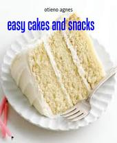 easy cakes and snacks: cakes