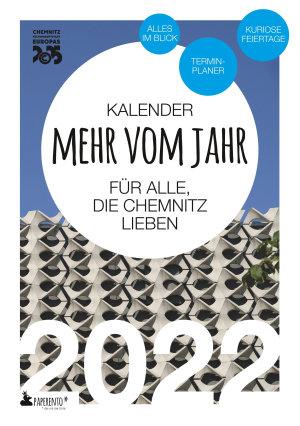 Chemnitz Kalender 2022  Mehr vom Jahr   f  r alle  die Chemnitz lieben PDF