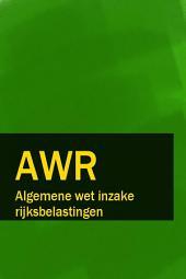 Algemene wet inzake rijksbelastingen - AWR