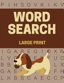 Word Search Large Print PDF