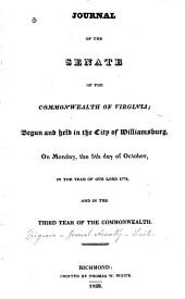 Journals of the Senate of Virginia