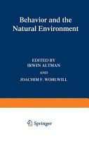 Behavior and the Natural Environment PDF