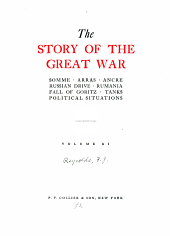 The story of the great war: with complete historical record of events to date, Volume 11