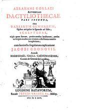 Dactyliotheca, Seu Annulorum Sigillarium Quorum apud Priscos tam Graecos quam Romanos usus, Ex Ferro, Aere, Argento & Auro Promptuarium: Volume 2
