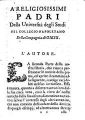 Istoria della compagnia di Giesu, appartenente al regno di Napoli: Volume 2