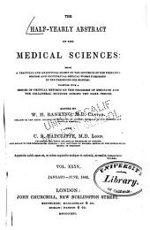 Half-year abstract of medical sciences: Volume 35