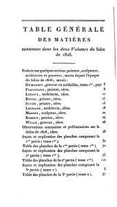 Annales du musée et de l'école moderne des beaux-arts. Coll. 1. 16 tom. [and] Tome complémentaire. Salons de 1808,1810,1812,1814,1817,1822, 1824
