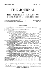 Journal of the American Society of Mechanical Engineers: Volume 30, Issues 7-12