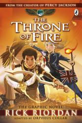 The Throne of Fire  The Graphic Novel  The Kane Chronicles Book 2  PDF