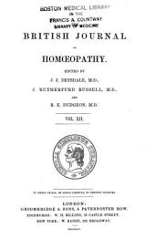 The British Journal of Homoeopathy: Volume 12