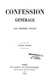 Confession générale: Volume2