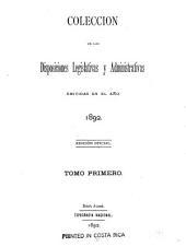 Coleccion de leyes y decretos