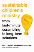 Sustainable Children s Ministry PDF