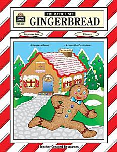 Gingerbread Thematic Unit Book