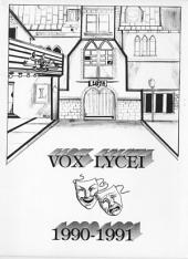 Vox Lycei 1990-1991