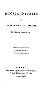 Istoria d'Italia di M. Francesco Guicciardini: Volume 6