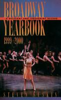 Broadway Yearbook  1999 2000 PDF