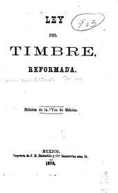 Ley del timbre reformada