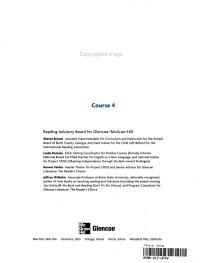 The Glencoe Reader  Course 4 PDF