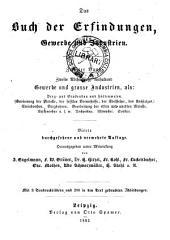 Das Buch der Erfindungen: Gewerbe und Industrien, Band 2,Teil 2