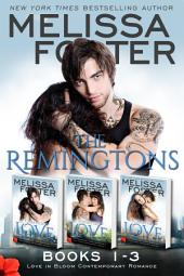 The Remingtons (Books 1-3, Boxed Set): Game of Love, Stroke of Love, Flames of Love