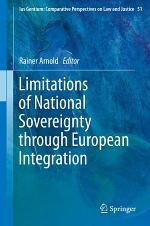 Limitations of National Sovereignty through European Integration