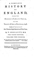 A Complete History of England from the Descent of Julius Caesar to the Treaty of Aix la Chapelle  1748  3  Ed PDF