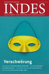 Verschwörungen: Indes. Zeitschrift für Politik und Gesellschaft 2015, Ausgabe 4