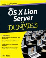 Mac OS X Lion Server For Dummies PDF