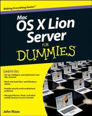 Mac OS X Lion Server For Dummies PDF