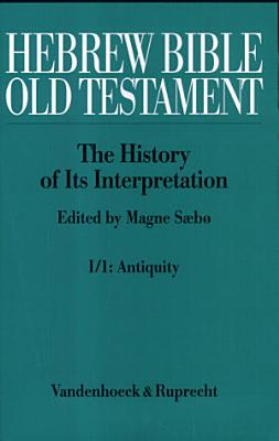 Hebrew Bible  Old Testament