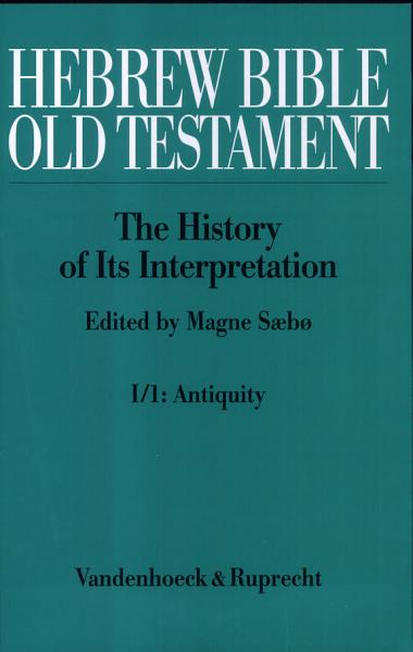 Hebrew Bible, Old Testament
