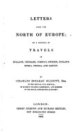 Letters from the North of Europe PDF