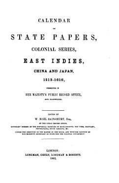Calendar of State Papers PDF
