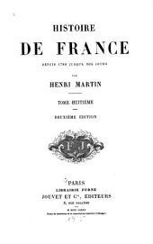 Histoire de France depuis 1789 jusqu'a nos jours: Volume8
